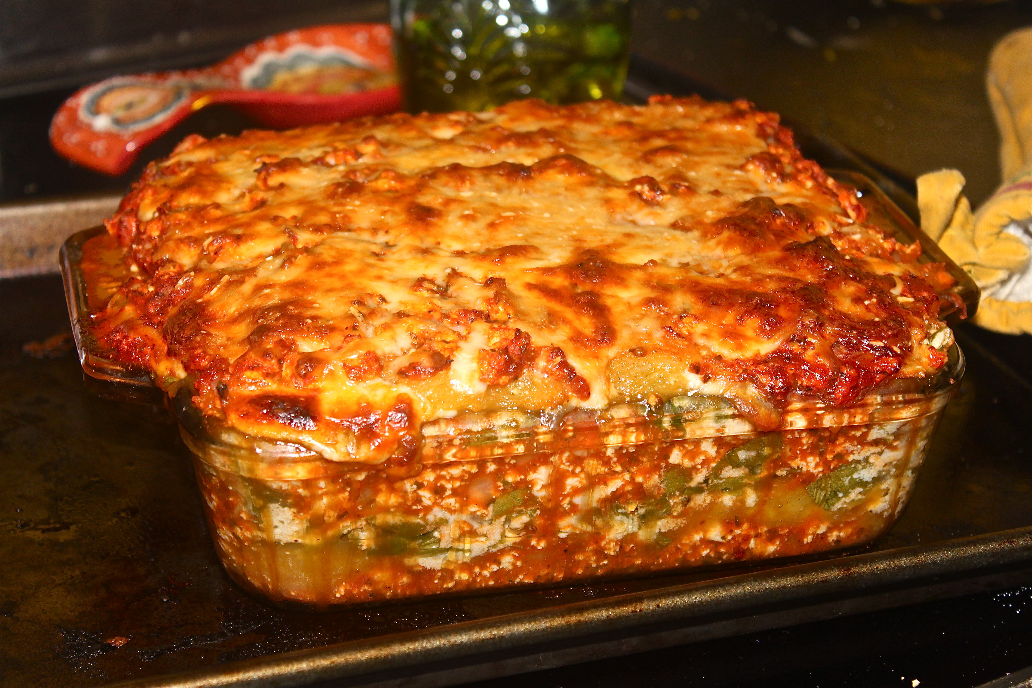 Un(Carb)Loading with Spaghetti Squash Lasagna - Notes From a Messy ...