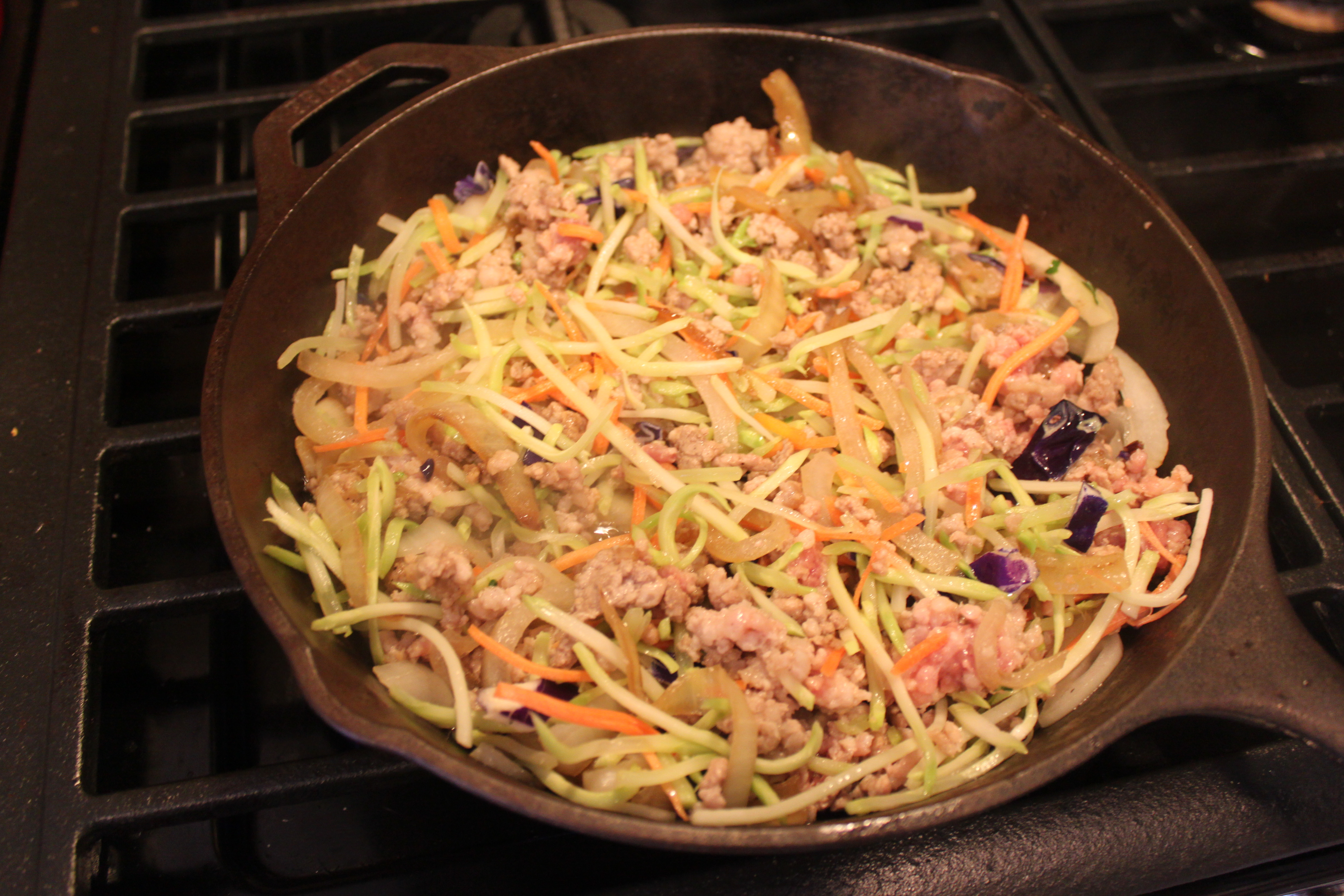 Curried Ground Pork And Broccoli Slaw Frittata Recipe ...