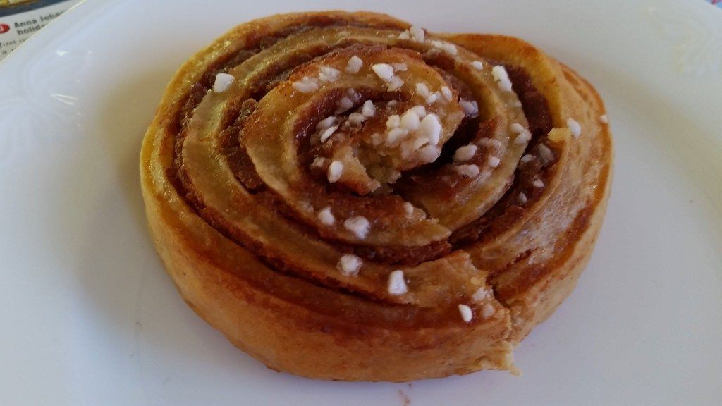 Swedish cinnamon bun.