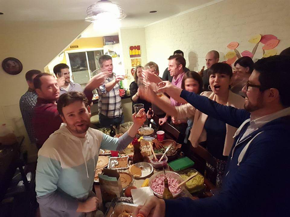Friendsgiving for No Kid Hungry: hosted nearly 30 people for a potluck Thanksgiving celebration, raising over $1,800 for No Kid Hungry!