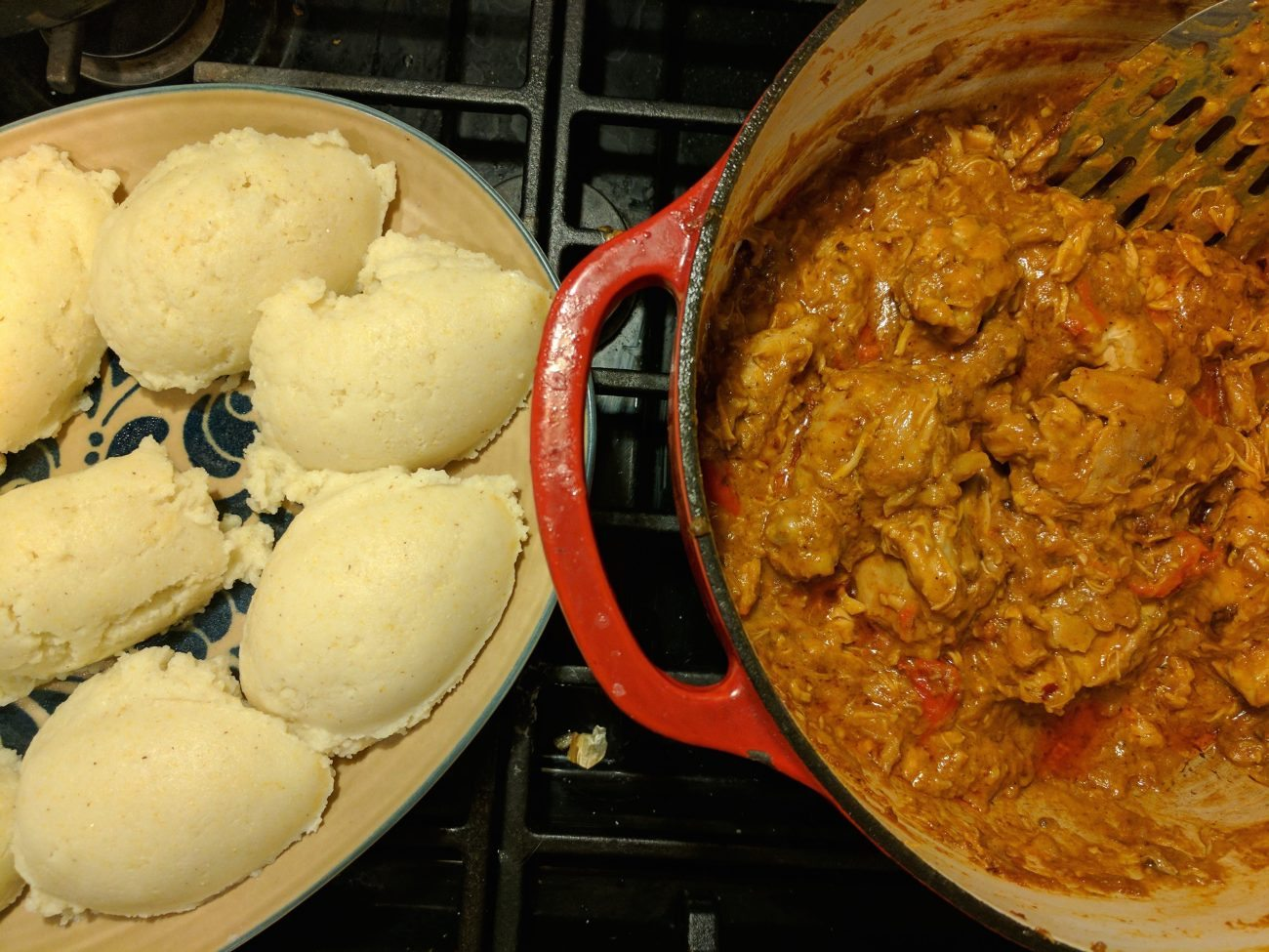 Sierra Leone & Kenya: Groundnut Stew with Ugali