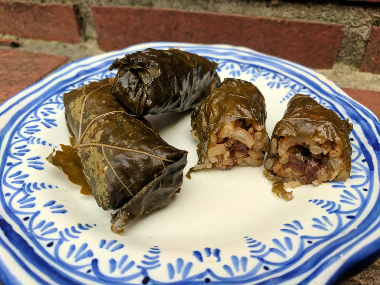 Turkey Grape Leaves Stuffed With Rice Currants Pine Nuts Notes From A Messy Kitchen