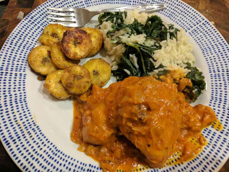 Poulet à la Moambe: National Dish of Dr. Congo